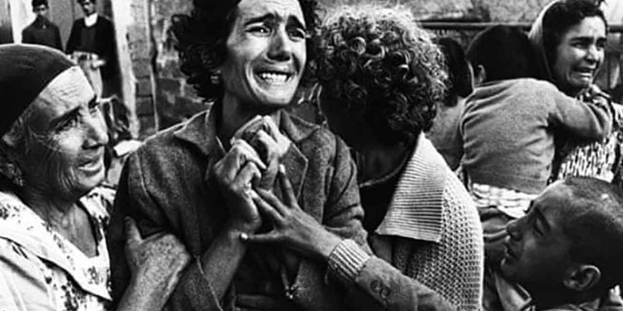 dettaglio da una foto di Don McCullin, Cipro, 1964