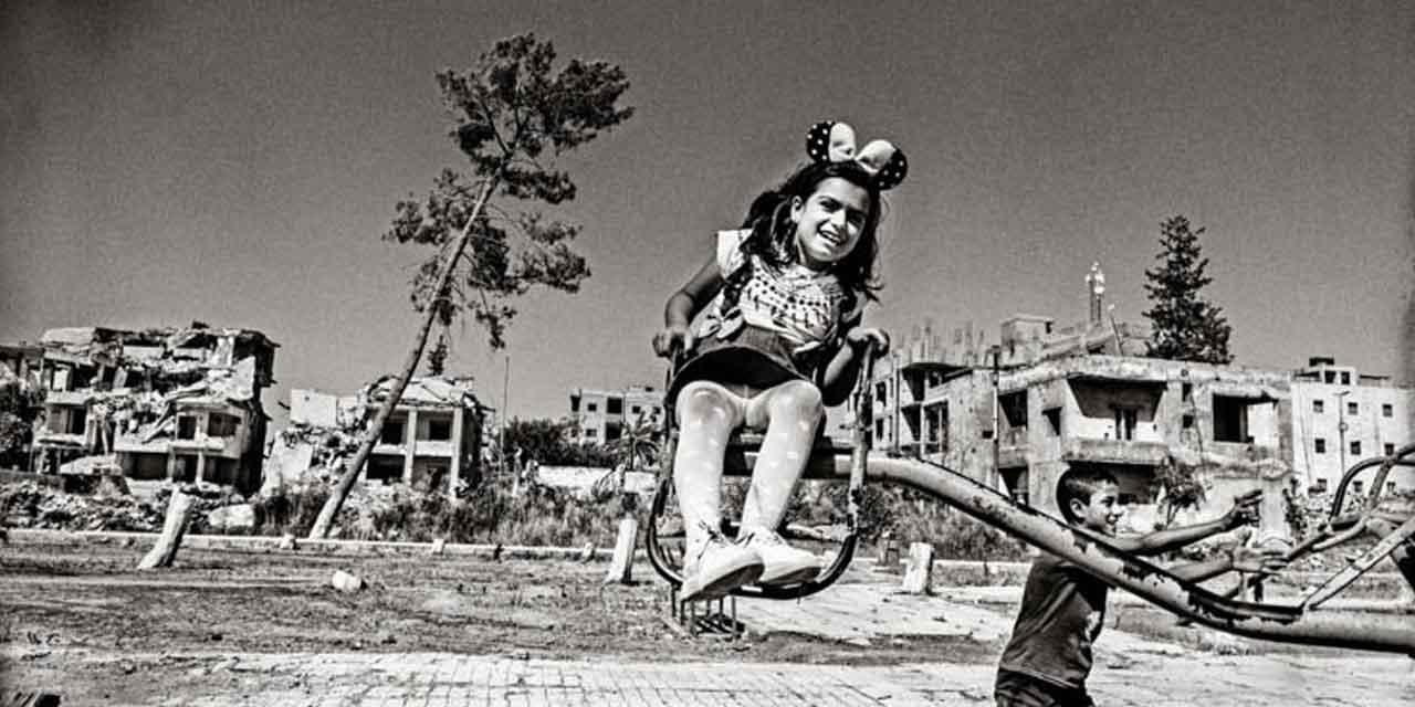 dettaglio di una foto di Tim Dirven a Raqqa